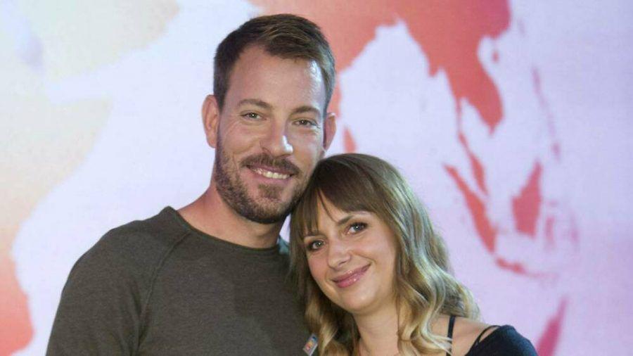 Gerald und Anna Heiser freuen sich auf das Familienleben zu dritt. (cos/spot)