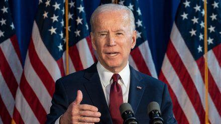 Joe Biden ist offiziell von den US-Demokraten zum Kandidaten für den Kampf um das Weiße Haus nominiert worden (hub/spot)