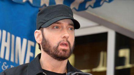 Eminem bei einem Auftritt in Los Angeles (hub/spot)