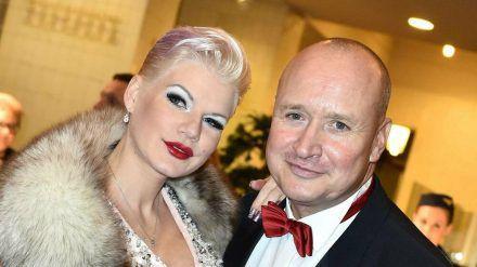 Melanie Müller und Mike Blümer sind seit 2014 verheiratet. (cam/spot)