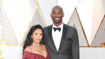 Kobe und Vanessa Bryant im Jahr 2018 bei der Oscar-Verleihung. (stk/spot)