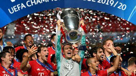 Der Jubel kannte keine Grenzen - sowohl bei den Spielern des FC Bayern München als auch bei den prominenten Fans des Vereins. (stk/spot)
