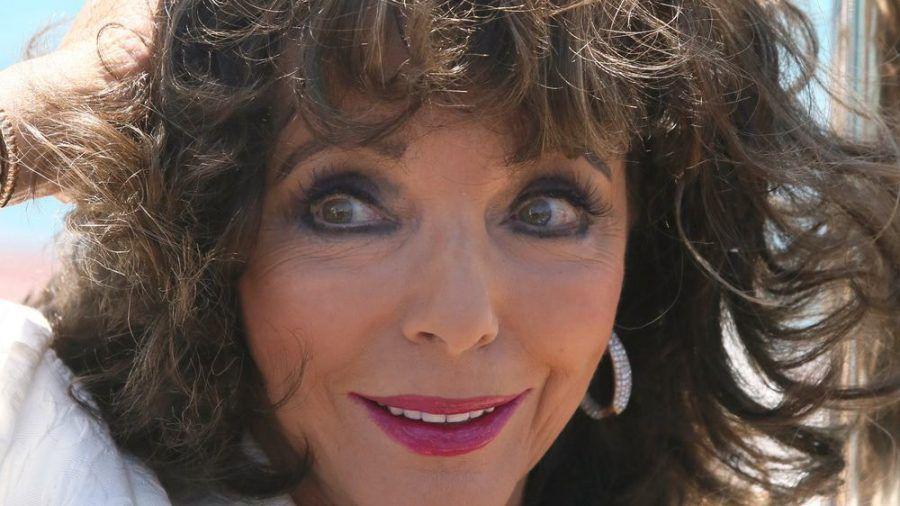 Joan Collins bekam in Südfrankreich Ärger mit der Polizei. (ves/spot)