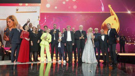 """Auch 2019 fand die Verleihung der """"Goldenen Henne"""" in Leipzig statt - damals noch mit Saalpublikum. (wag/spot)"""