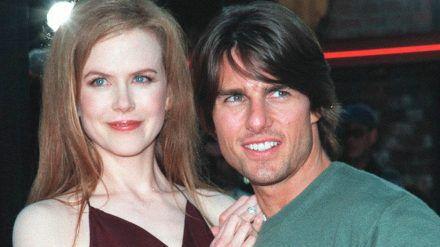 Tom Cruise und Nicole Kidman bei einem gemeinsamen Auftritt im Jahr 1999. (hub/spot)
