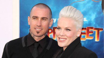 Carey Hart und Pink sind seit 2006 verheiratet. (wag/spot)