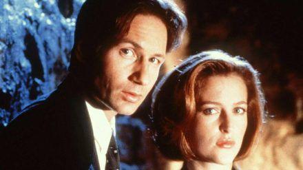 David Duchovny und Gillian Anderson als Mulder und Scully (wue/spot)