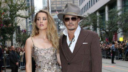 Amber Heard und Johnny Depp zu der Zeit, als sie noch zusammen waren (wue/spot)