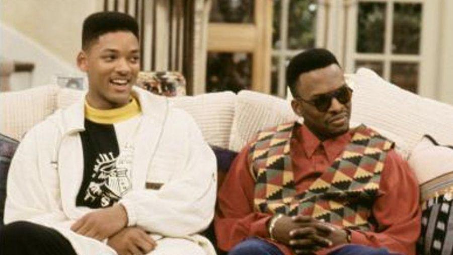 """Will Smith (l.) als der """"Fresh Prince"""" und DJ Jazzy Jeff als sein bester Chaoten-Kumpel Jazz in """"Der Prinz von Bel-Air"""" (rto/spot)"""
