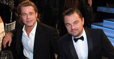 Brad Pitt & Leonardo DiCaprio vertiefen Freundschaft beim Töpfern