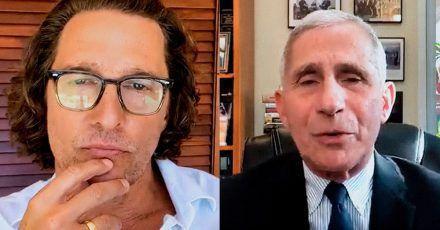 Corona in den USA: Matthew McConaughey ist entsetzt