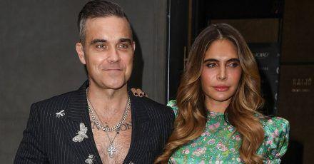 Robbie Williams: Darum muss er sich mit seiner Frau das Badewasser teilen