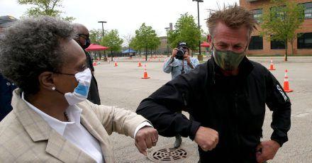 Sean Penn plant große Promi-Corona-Spendenaktion
