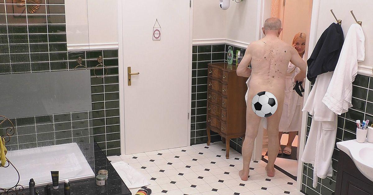Werner Hansch (82) schockiert Emmy Russ mit Komplett-Nacktauftritt