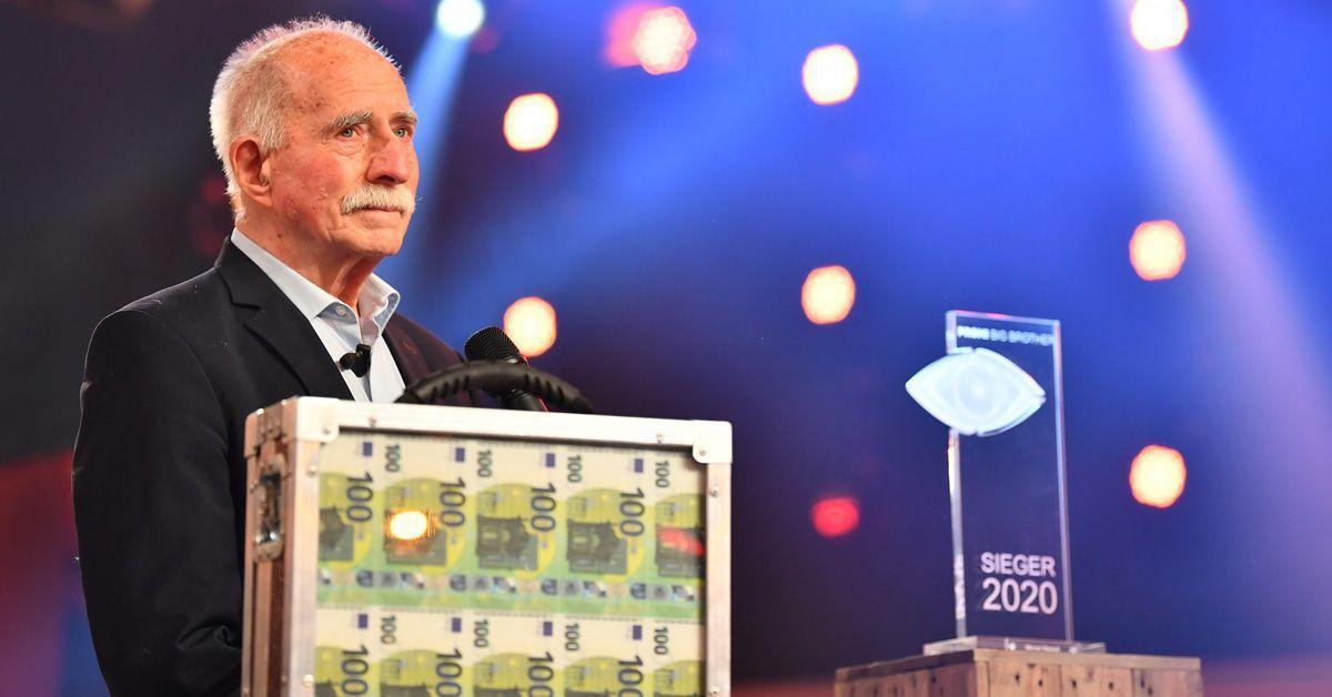 Werner Hansch (82) gewinnt Promi BB: Das Video, das zu Tränen rührt!