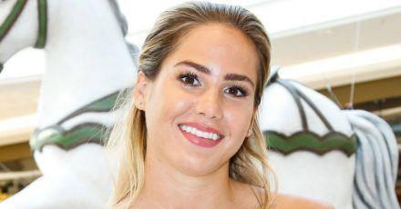 Angelina Pannek klagt über Lähmungserscheinungen im Arm