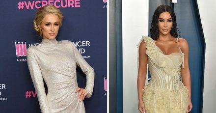 Paris Hilton und Kim Kardashian sind ganz enge BFF´s