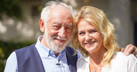 .Dieter Hallervorden und Christiane Zander