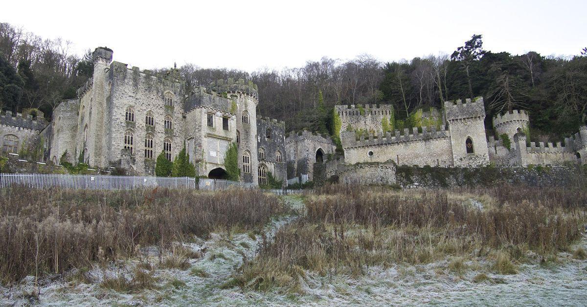 """""""Dschungelcamp"""" bei 5 Grad: Was man über das Spukschloss """"Gwrych Castle"""" weiß"""