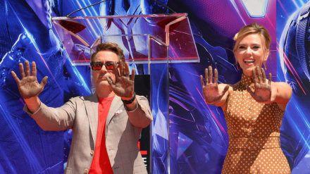 Robert Downey Jr. und Scarlett Johansson sorgen für volle Kinosäle. (hub/spot)