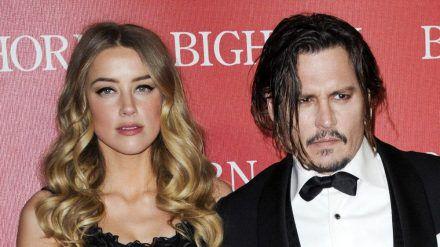 Anfang 2016 waren Johnny Depp und Amber Heard noch ein Ehepaar. (wue/spot)