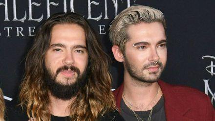 Tom (links) und Bill Kaulitz feiern mit der Band Tokio Hotel internationale Erfolge. (cos/spot)