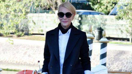 Cool, cooler, Cate Blanchett in Venedig. (mia/spot)