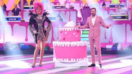 """Olivia Jones und Jochen Schropp moderieren die """"Festspiele der Reality Stars"""". (jom/spot)"""