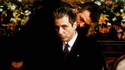 "Al Pacino als Mafiaboss Michael ""Don"" Corleone in ""Der Pate III"". (stk/spot)"