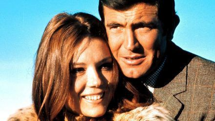 """Diana Rigg und George Lazenby in """"James Bond: """"Im Geheimdienst Ihrer Majestät"""" von 1969 (stk/spot)"""