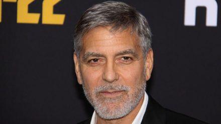 George Clooney bei einem Auftritt im Frühjahr 2019. (hub/spot)
