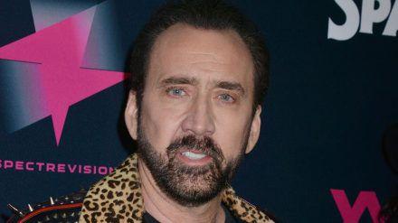 """Schauspieler Nicolas Cage wird als Joe Exotic in der """"Tiger King""""-Serie zu sehen sein (ili/spot)"""