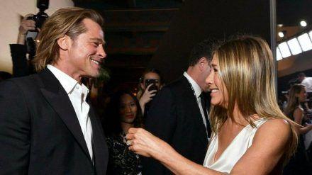 Jennifer Aniston und Brad Pitt trafen sich im Januar 2020 bei den Screen Actors Guild Awards in Los Angeles. (ili/spot)
