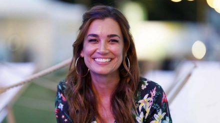 Jana Ina Zarrella ist zurück auf Mallorca. (cos/spot)