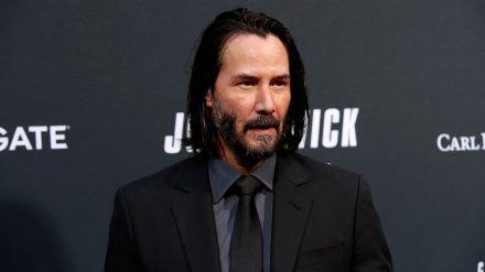 """Keanu Reeves, hier auf der Premiere von """"John Wick: Kapitel 3"""", verrät Details zu """"Matrix 4"""" (wue/spot)"""