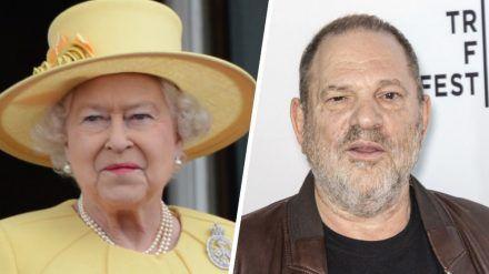 Queen Elizabeth II. erklärt Harvey Weinsteins CBE-Ehrung für nichtig. (cos/spot)