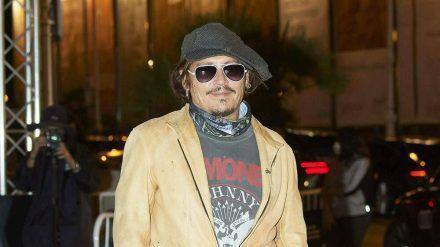 Johnny Depp schlägt beim Internationalen Filmfestival von San Sebastián auf (amw/spot)