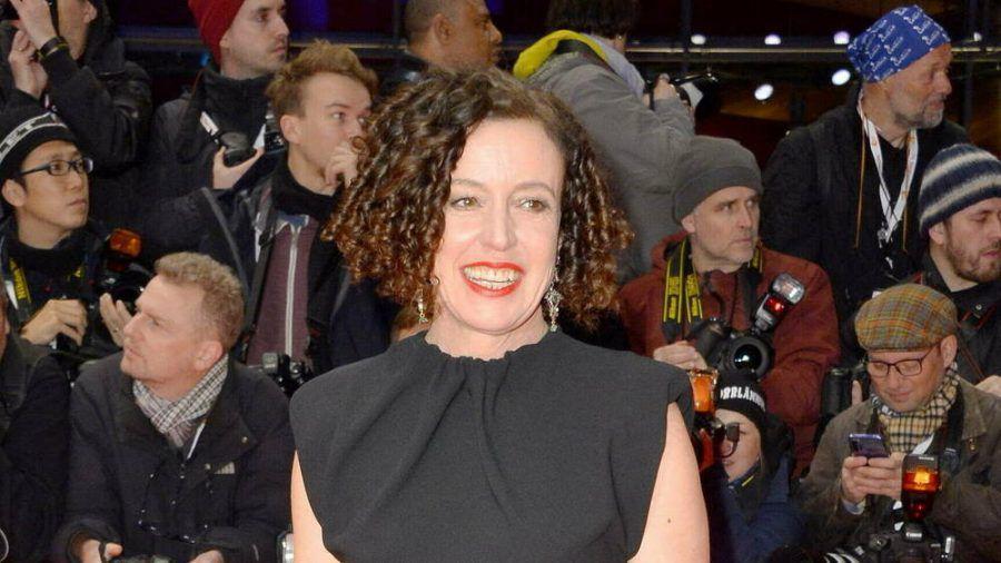 Maria Schrader bei einem Auftritt in Berlin (hub/spot)