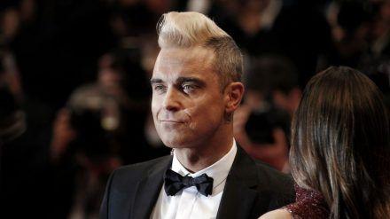 Robbie Williams hat offensichtlich Probleme mit Zahlen. (dr/spot)