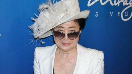 Yoko Ono bei einem Auftritt in Las Vegas. (hub/spot)