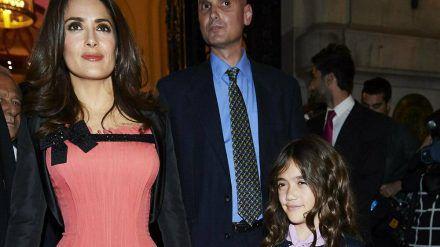Salma Hayek mit ihrer Tochter Valentina im Jahr 2015. (jru/spot)