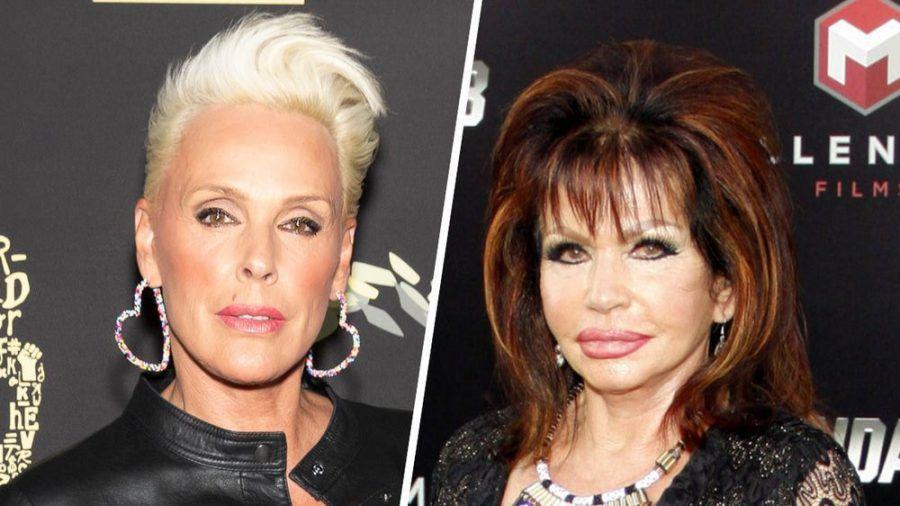 Brigitte Nielsen (li.) und Jackie Stallone verband eine gemeinsame Vergangenheit. (cos/spot)