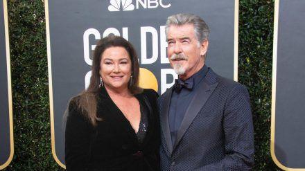 Pierce Brosnan und seine Frau Keely Shaye (stk/spot)