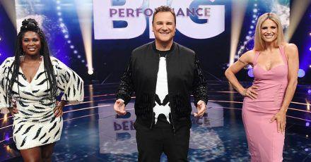 """Michelle Hunziker über die neue spektakuläre Show """"Big Performance"""""""