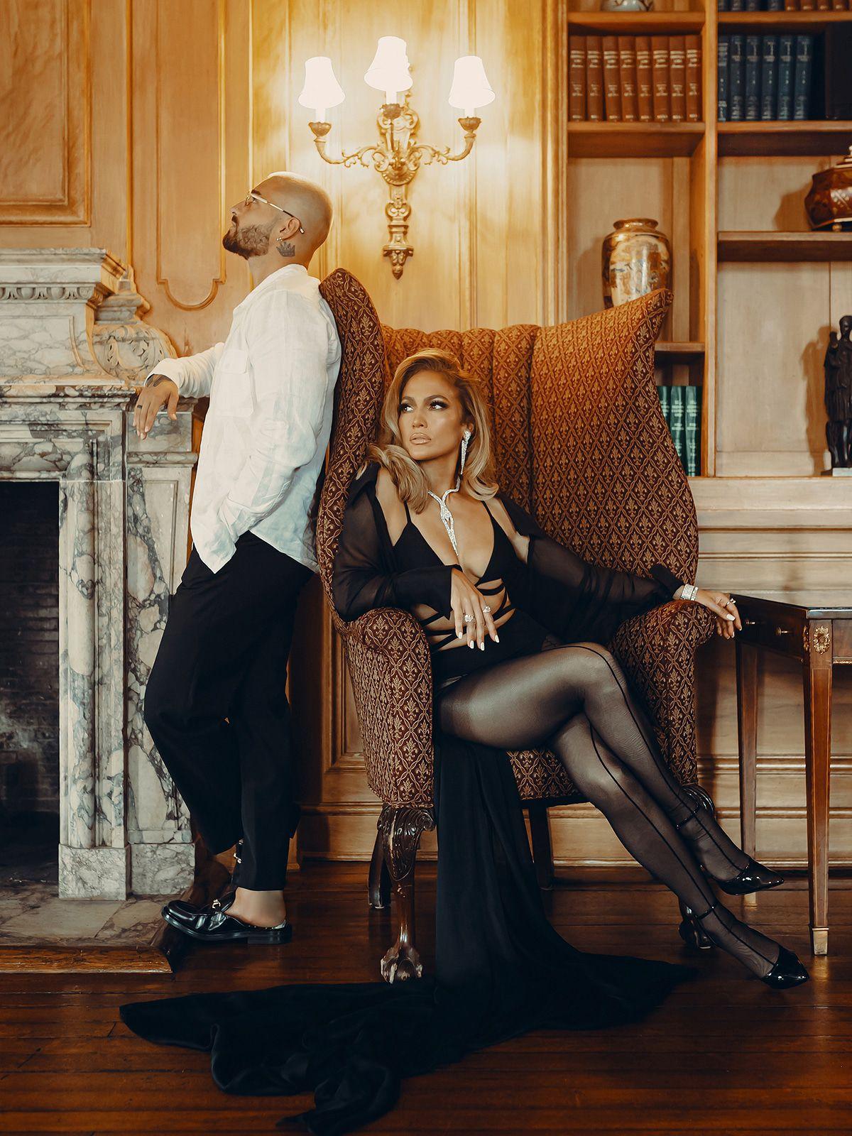 Maluma kuschelt mit Jennifer Lopez