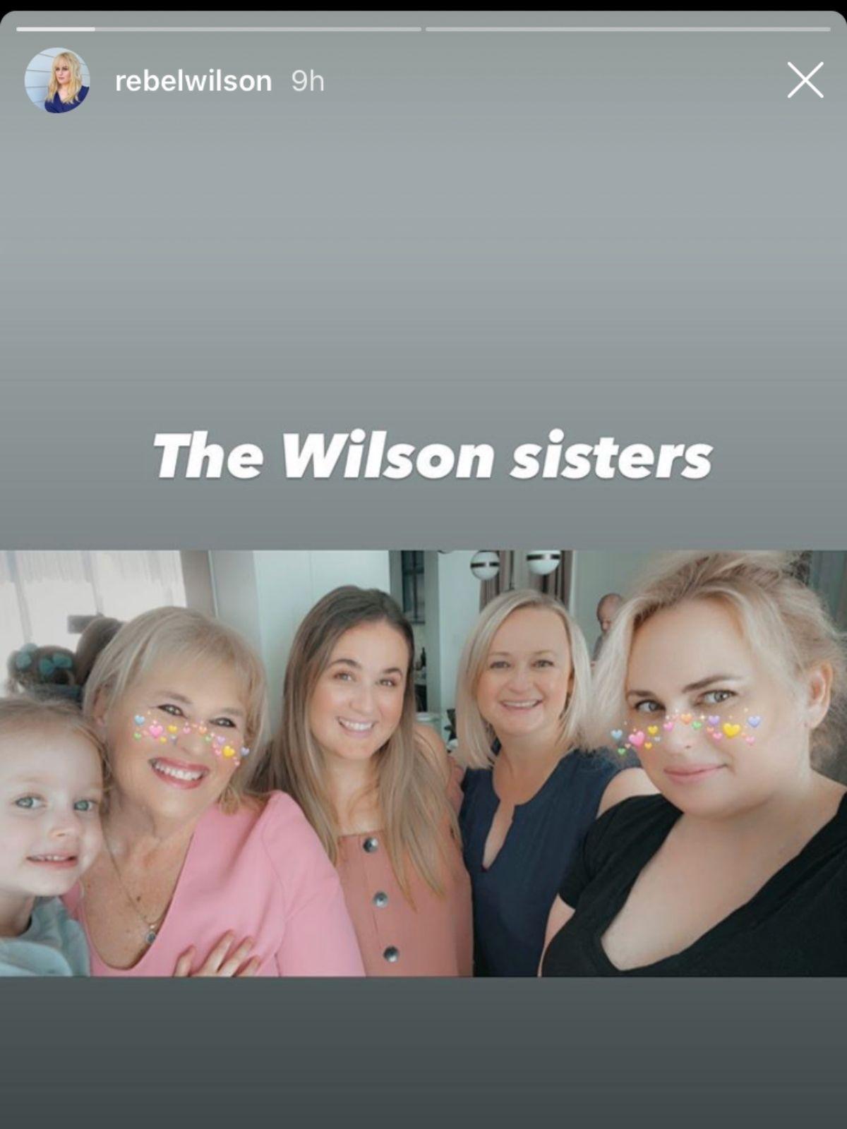 Rebel Wilson postet seltenes Familienfoto
