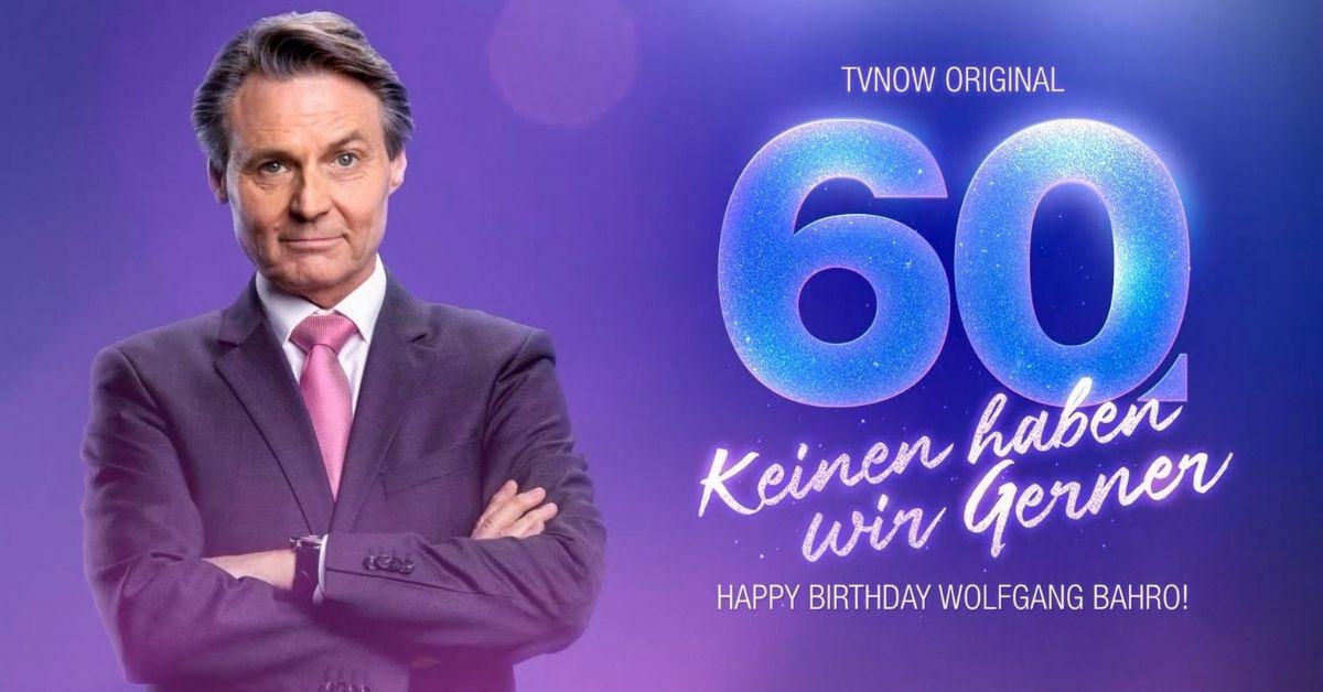 """Wolfgang Bahro wird 60: TV-Doku über den """"GZSZ""""-Star & ein Buch"""