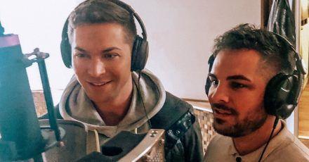Julian David singt jetzt mit seinem Bruder Marco