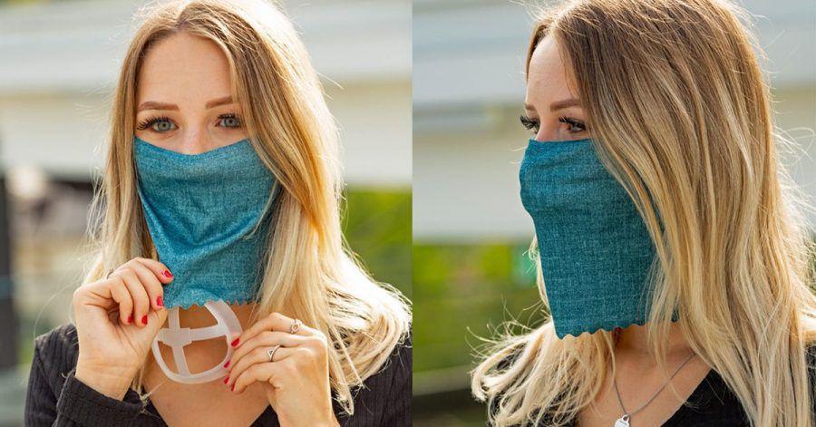 Maskenpflicht: Mit diesem Ding kann man besser atmen und sprechen?