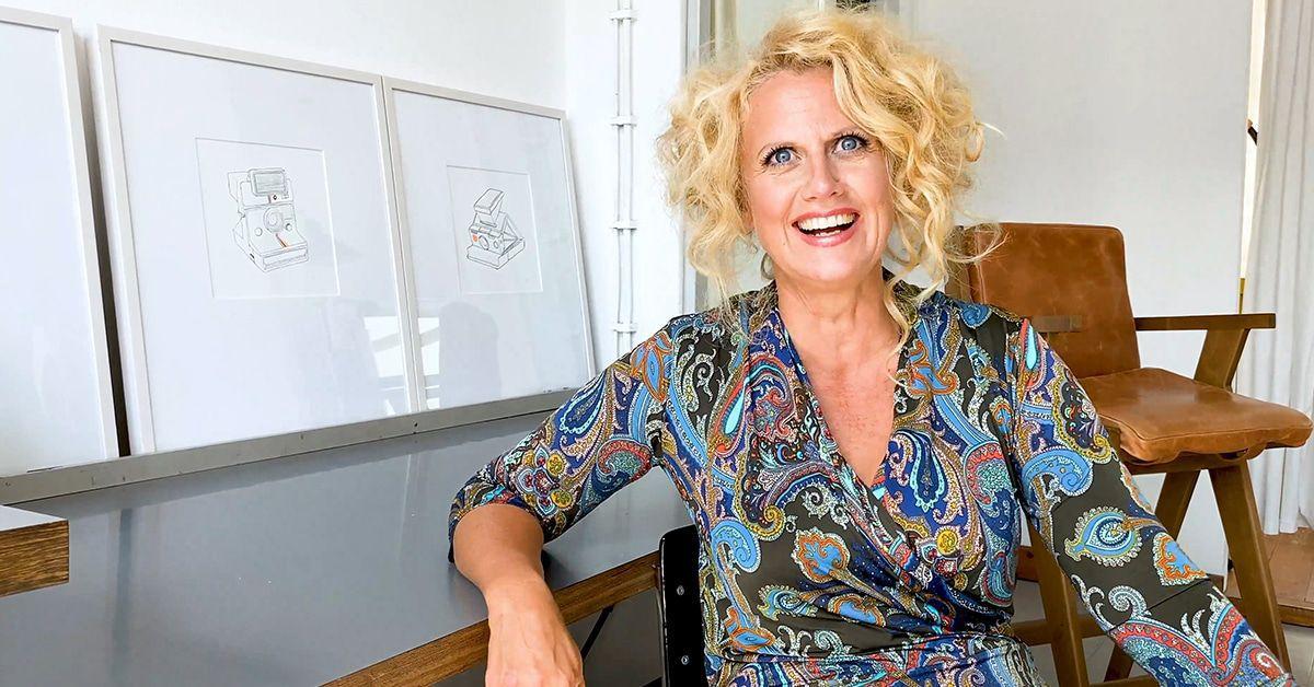 Barbara Schöneberger hängt im Mond